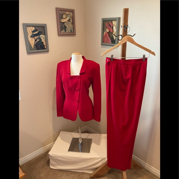 NEW Beautiful Christian Dior red jacket /pants